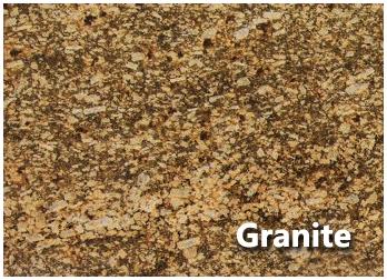 Variety Of Materials. Granite